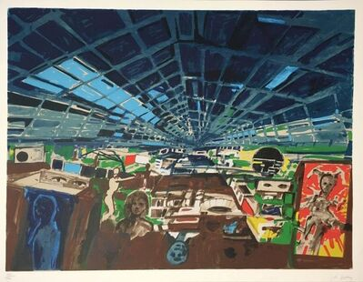 John Hultberg, 'Greenhouse', 1978