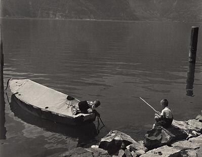 Erika Stone, 'Boys at Play, Lake Lucerne, Switzerland', ca. 1970