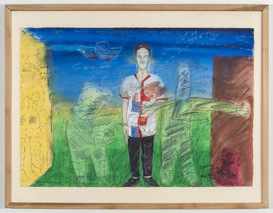 David Sandlin, 'Yet Another Self-Indulgent Self-Portrait', 1983