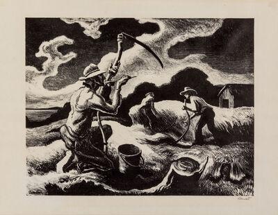 Thomas Hart Benton, 'Island Hay', 1946