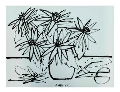 America Martin, 'Echinacea Flowers', 2019