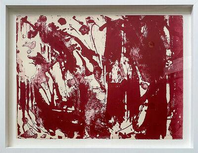 Lee Krasner, 'Special Rose (d) from Long Lines for Lee Krasner', 1970