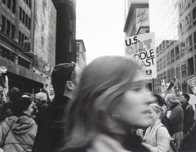 Tony Cece, 'Anti-War Protest N.Y.C.', 2004