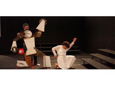Ohad Meromi, 'Rehearsal Sculpture, installation image'