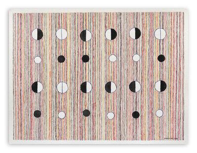 Jeremie Iordanoff, 'Pions (Abstract work on paper)', 2009