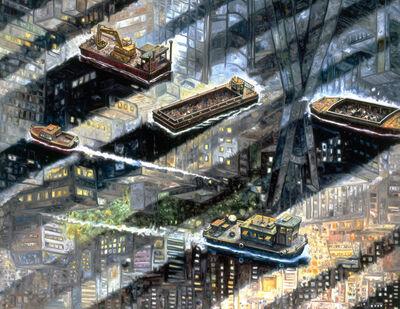 Oscar Oiwa, 'Pine River', 2015