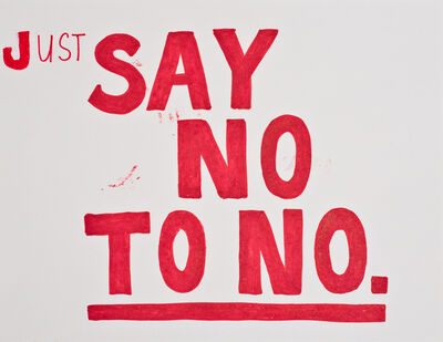 Jim Torok, 'Just Say No', 2015