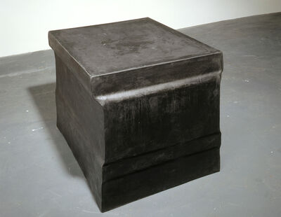 Rachel Whiteread, 'Untitled (Black Plinth)', 1996
