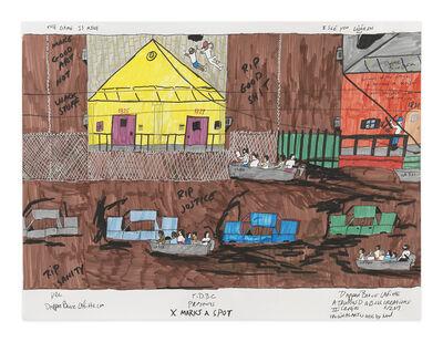 Dapper Bruce Lafitte, 'X Marks a Spot', 2017