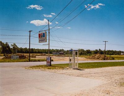 Stephen Shore, 'US 1, Arundel, Main, July 17', 1974