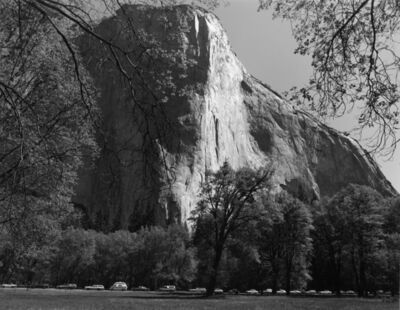 Bill Owens, 'On the weekends the traffic is always bumper to bumper just like a commute day. You drive for four hours to look at El Capitan for four minutes, and most people never get out of the car', 1977