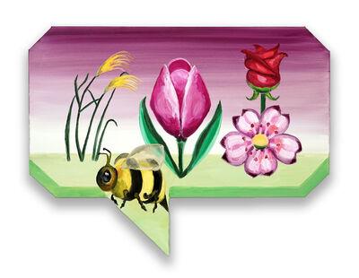 Klodin Erb, 'Full Bee, Rich Garden', 2019
