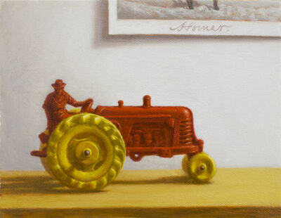 Nathan Loda, 'Robert's Red Tractor', 2015