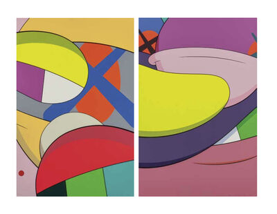 KAWS, 'From No Reply (two works)', 2015
