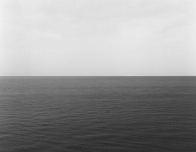 Hiroshi Sugimoto, 'English Channel, Etretat', 1989