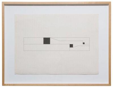 Camille Graeser, 'Räumlicher Rhythmus 345', 1954
