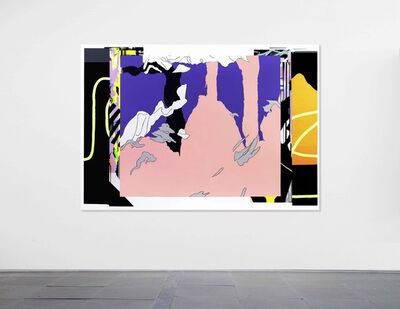 Zhong Wei, 'Coupling Flesh and Purple', 2019