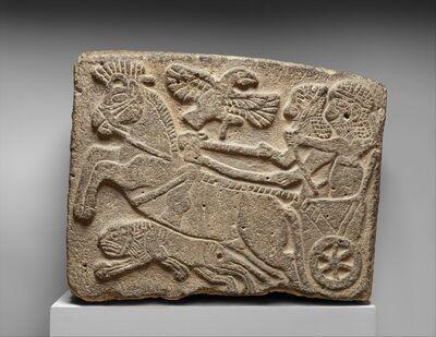 Unknown Hittite, 'Orthostat relief: lion-hunt scene', ca. 9th century B.C.
