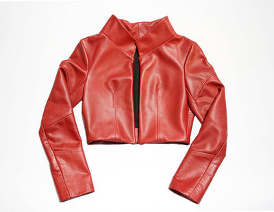 Melissa Fleis, 'Cast Leather (Red)', 2013