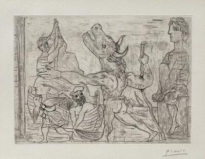 Pablo Picasso, 'Minotaure Aveugle Guide par une Fillette, III', 1934