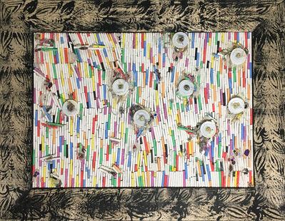 Pascale Marthine Tayou, 'Fresque de craies C(2)', 2015