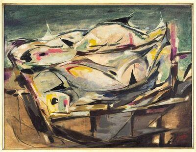 Enrico de Tomi, 'Abstract Composition', 1950s