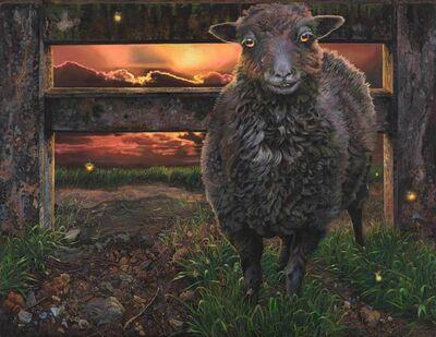 Deborah Poynton, 'Sheep and Fireflies', 2021