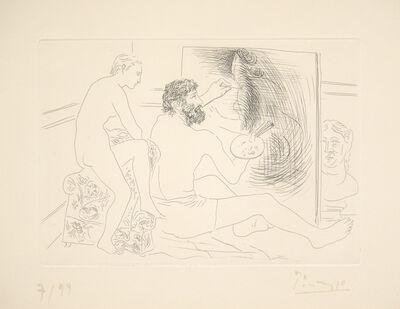 Pablo Picasso, 'Peintre Travaillant', 1927