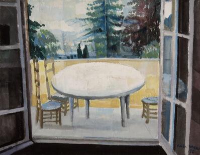 Omar El Nagdi, 'Vue de ma chambre à Vernon.', 1992