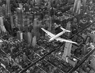 Margaret Bourke-White, 'DC-4 Flying Over New York City', 1939