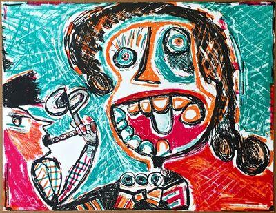 George McNeil, 'Untitled Figure', 1986