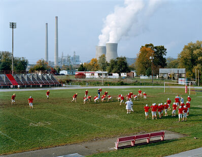 Mitch Epstein, 'Poca High School and Amos Coal Power Plant, West Virginia', 2004