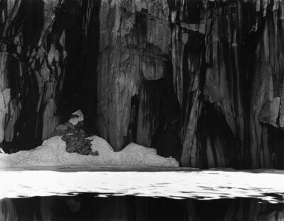 Ansel Adams, 'Frozen Lake and Cliffs, Sierra Nevada, California', 1932