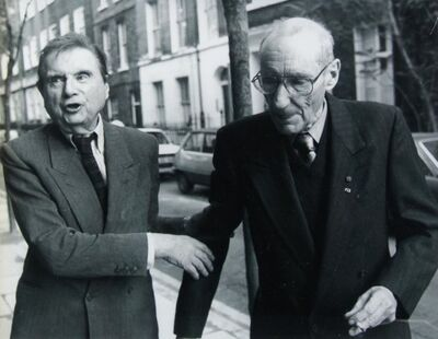 Unknown Artist, 'Francis Bacon and William Burroughs', n.d