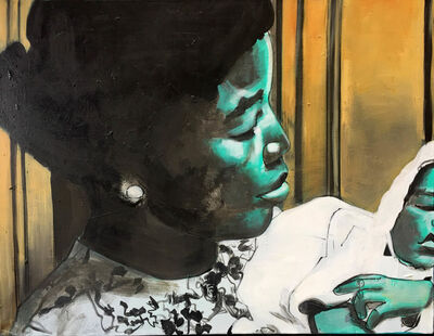 Charlotta Janssen, 'Madonna and Child (Dr. Betty Shabazz)', 2017