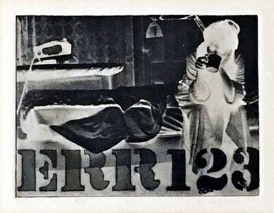 Robert Indiana, 'ERR (Sheehan 29) ', 1963