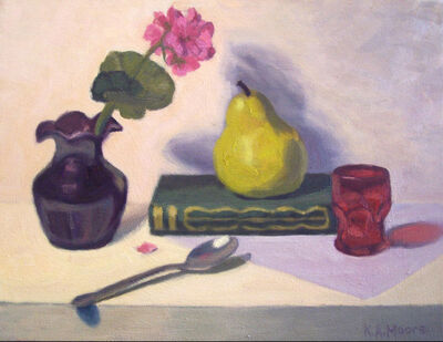 Kathy A. Moore, 'VASE, PEAR, and SPOON', 2017