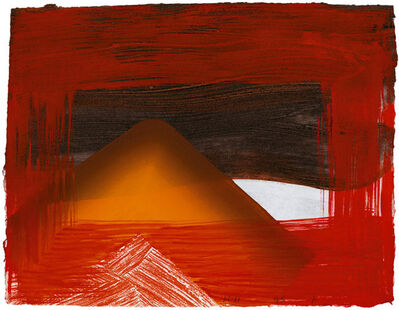Howard Hodgkin, 'Snow', 1995