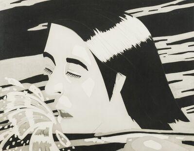 Alex Katz, 'The Swimmer (Klaus Albrecht Schröder 76)', 1974