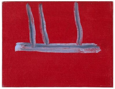 Robert Motherwell, 'Untitled (Red Open)', 1970