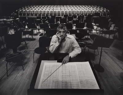 Arnold Newman, 'Leonard Bernstein, New York City', 1968