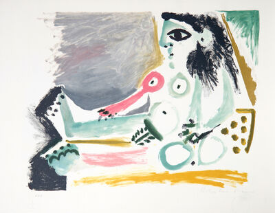 Pablo Picasso, 'Femme Nu Assise ', 1979-1982