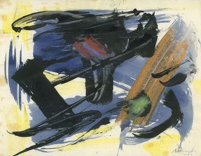 Gérard Schneider, 'Untitled', 1961