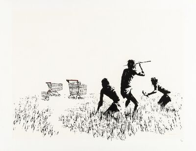 Banksy, 'Trolleys', 2007