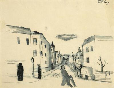 Wilhelm Thöny, 'On the street'
