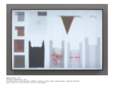 Gabriel Kuri, 'Inverted Lightbox H8', 2014