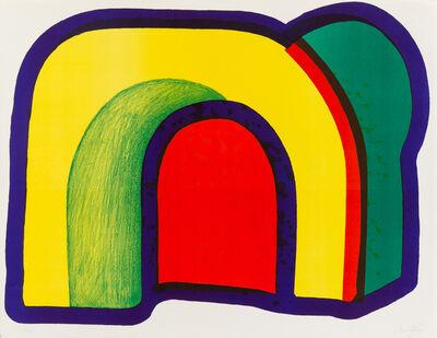 Howard Hodgkin, 'Composition with Red (from Europaeische Graphik VII)', 1971