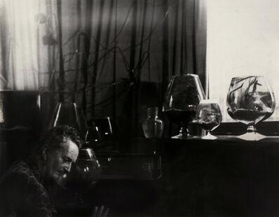 Kati Horna, 'Edward James portrait with glasses'