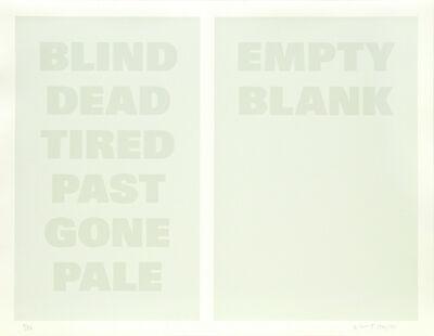 Remy Zaugg, 'Untitled (B)', ca. 1994