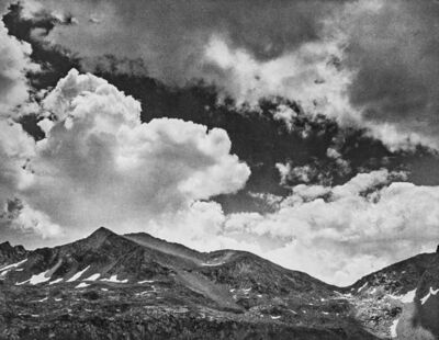 Ansel Adams, 'Mather Pass in Kings River Sierra', 1939